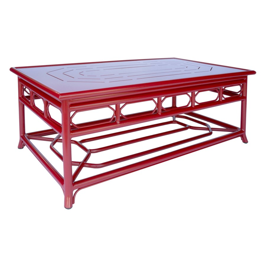 Regeant 4-Season Coffee Table in Antique Red