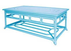 4-Season Regeant Coffee Table (Aluminum) - Blue