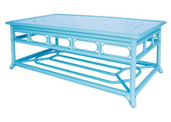 Regeant 4-Season Coffee Table in Ice Blue
