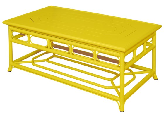 Regeant 4-Season Coffee Table in Yellow
