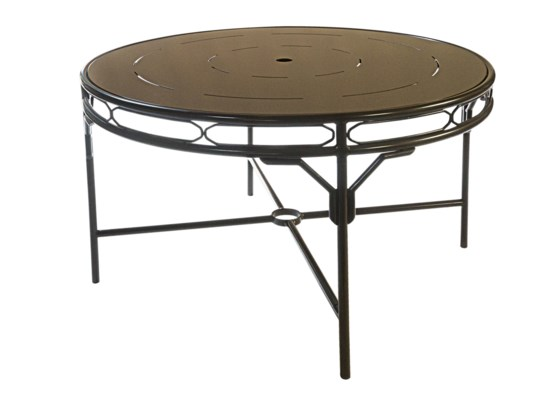 Regeant 4-Season Round Dining Table in Bronze