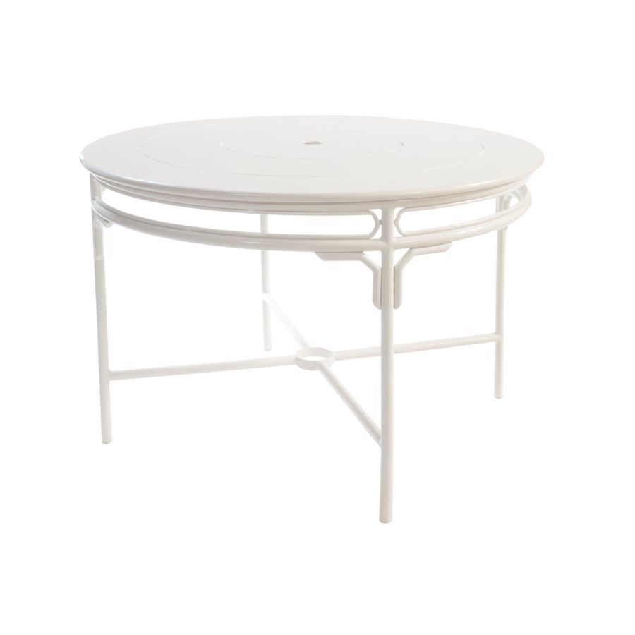 Regeant 4-Season Round Dining Table in White