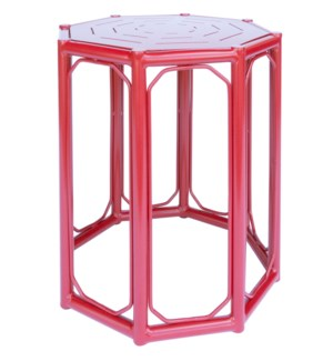 Regeant 4-Season Side Table in Antique Red