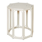 Regeant 4-Season Side Table in White