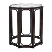 Regeant Octagonal Side Table in Clove
