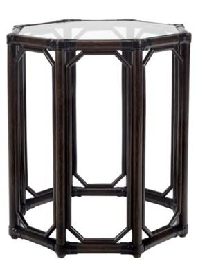 Regeant Octagonal Side Table in Clove