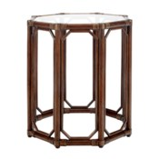 Regeant Octagonal Side Table in Cinnamon