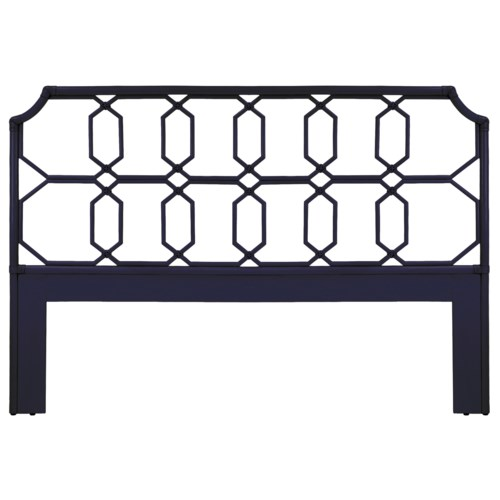 Regeant King Headboard in Blueberry