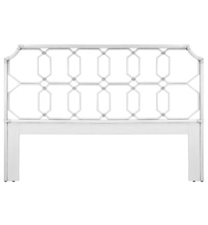 Regeant King Headboard in White
