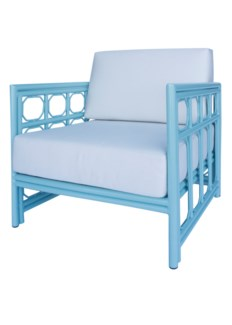 Regeant 4-Season Lounge Chair in Blue