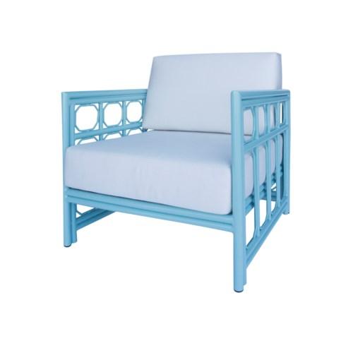 Regeant 4-Season Lounge Chair in Blue - LIQ