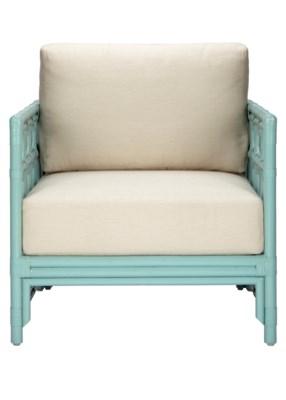 Regeant Lounge Chair in Light Blue