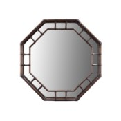 Regeant Octagonal Mirror in Clove