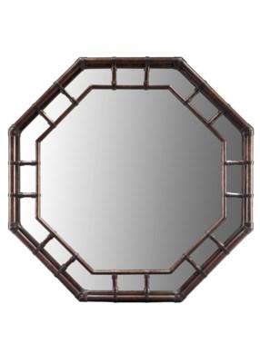 Regeant Octagonal Mirror in Clove
