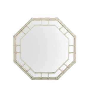 Regeant Octagonal Mirror in White
