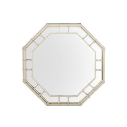 Regeant Octagonal Mirror in White