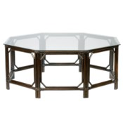 Regeant Octagonal Coffee Table in Clove