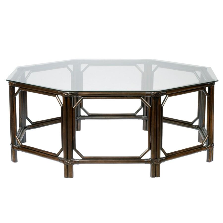 Regeant Octagonal Coffee Table in Clove