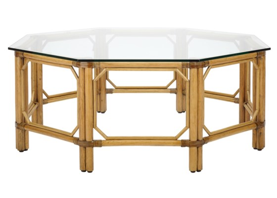 Regeant Octagonal Coffee Table in Nutmeg