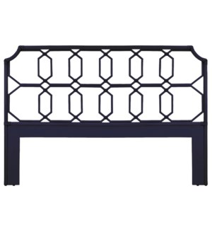 Regeant Queen Headboard in Blueberry