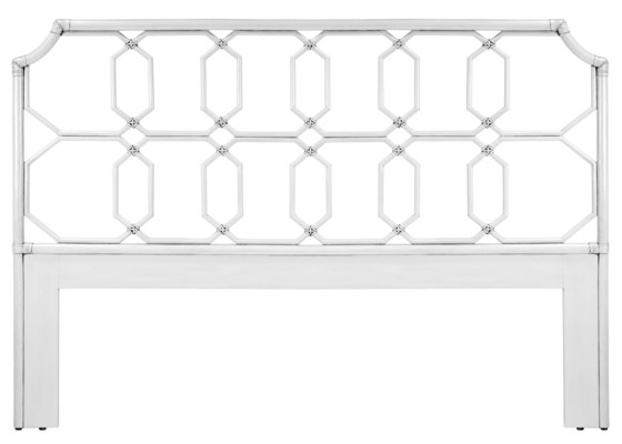 Regeant Queen Headboard in White