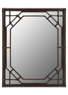 Regeant Rectangular Mirror in Clove