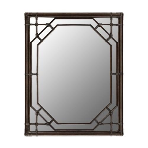Regeant Rectangular Mirror in Clove