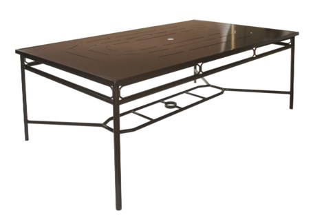 Regeant 4-Season Rectangular Dining Table in Bronze