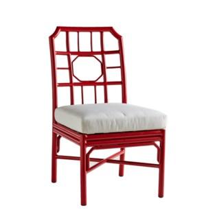 Regeant 4-Season Side Chair in Antique Red