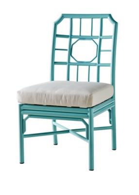 Regeant 4-Season Side Chair in Blue
