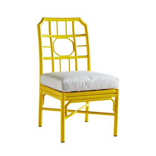 Regeant 4-Season Side Chair in Yellow