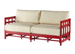 Regeant Sofa - Antique Red