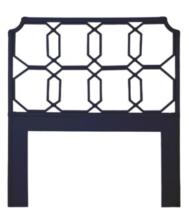 Regeant Twin Headboard - Blueberry