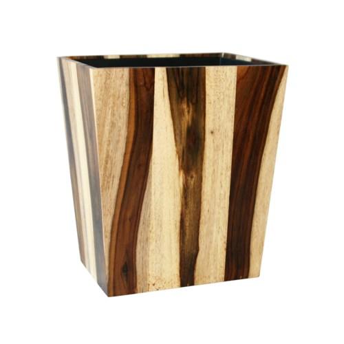 Rosewood Wastebasket in Natural