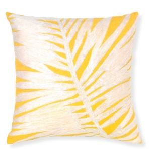 Chico Yellow Throw Pillow ADD INSERT PFF-18X18 - LIQ