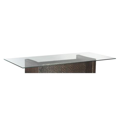 """Dining Table Top Rectangular Glass, 44""""x 82"""""""