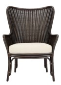 Sheridan Wing Chair in Clove