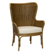 Sheridan Wing Chair in Nutmeg