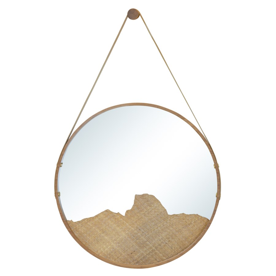 Sonora Small Mirror in Natural
