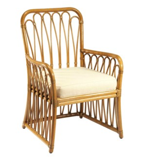 Sona Arm Chair in Nutmeg