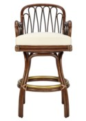 Sona Bar Stool in Cinnamon/Espresso