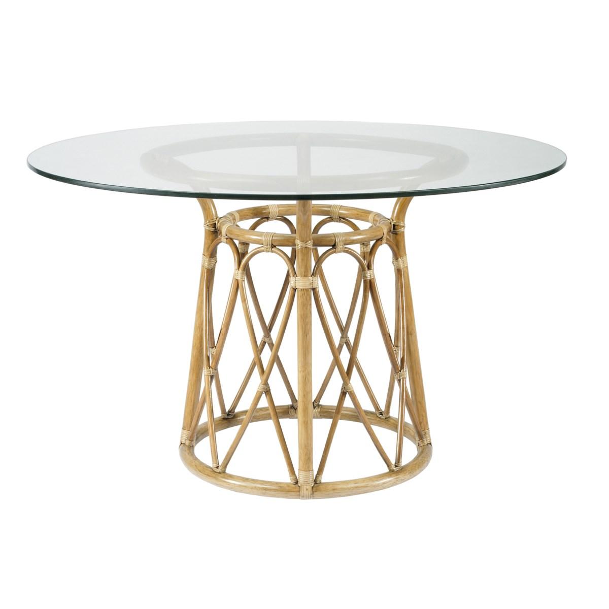 Sona Dining Table Base in Nutmeg