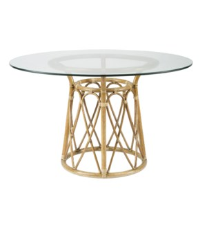 Sona Dining Table Base in Nutmeg
