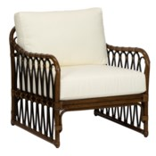 Sona Lounge Chair in Cinnamon/Espresso