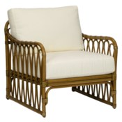 Sona Lounge Chair in Nutmeg