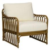 Sona Lounge Chair - Nutmeg