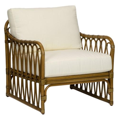 Sona Lounge Chair in Nutmeg