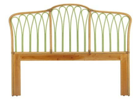Sona Queen Headboard in Nutmeg/Kiwi