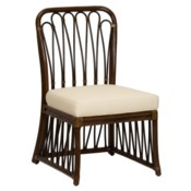 Sona Side Chair in Cinnamon/Espresso