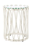 Sona Side Table - White